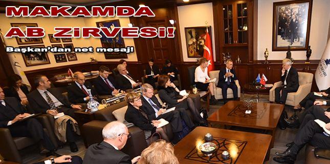 Avrupalı elçiler İzmir'de buluştu: Başkan'dan net mesaj!