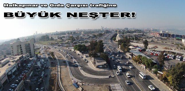 Büyükşehir den 2 kritik noktaya  trafik  neşteri!