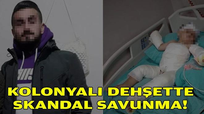 İzmir'deki kolonyalı dehşette skandal savunma!
