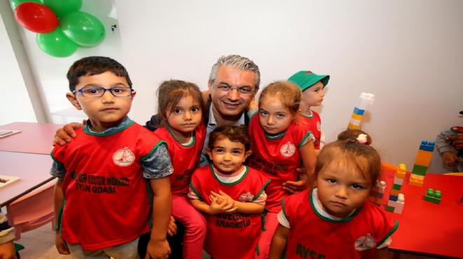 Karşıyaka'ya iki yeni anaokulu müjdesi