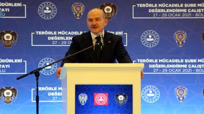 'PKK'nın eylemleri 5 yılda yüzde 54 azaldı'
