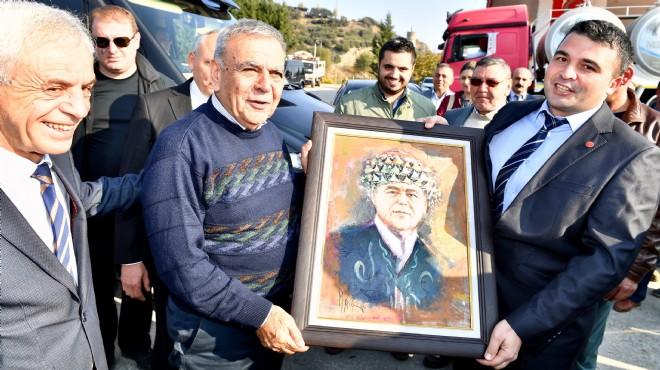 'Tarım'ın Efesi'ne anlamlı hediye: Beydağ'dan kırsal kalkınma mesajları