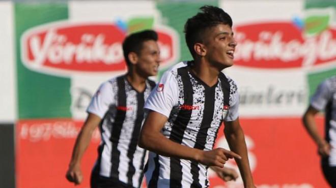 15 yaşındaki Bilal Budak 3. Lig'i sallıyor!