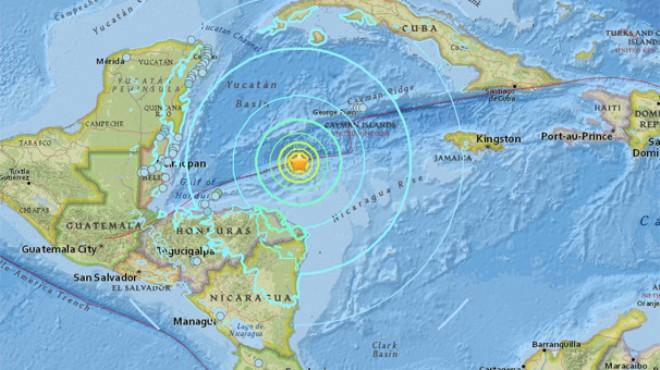 7.6 şiddetinde deprem... Tsunami uyarısı yapıldı!