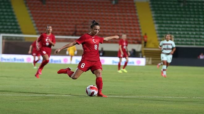 A Milli Kadın Futbol Takımı Portekiz ile berabere kaldı