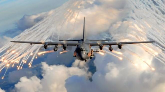 ABD askerlerini taşıyan uçak düştü!