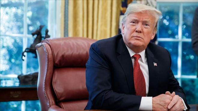 ABD Başkanı Trump'tan İran'a gözdağı!