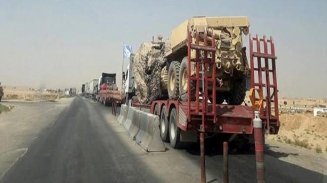 ABD Münbiç'te YPG/PKK'ya iş makineleri gönderdi!