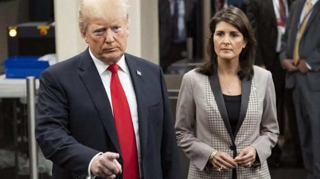 ABD'nin BM Büyükelçisi istifa etti!