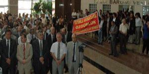 İzmir'de adli yıla protestolu açılış