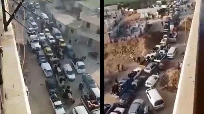 Afrin'den büyük kaçış: Siviller kentten ayrılıyor