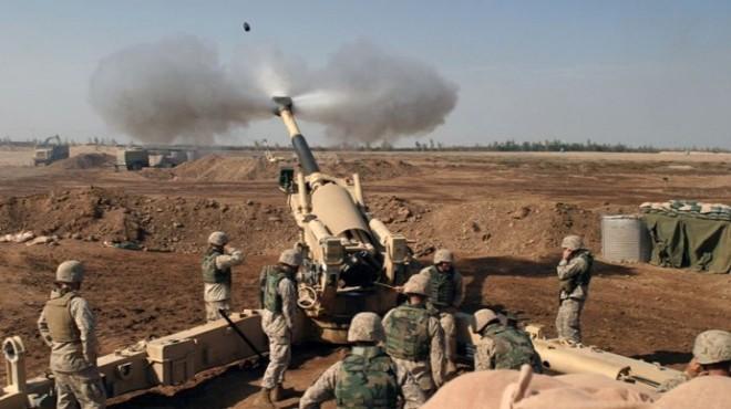 Afrin'e girmeye çalışan Esad güçlerine topçu atışı!