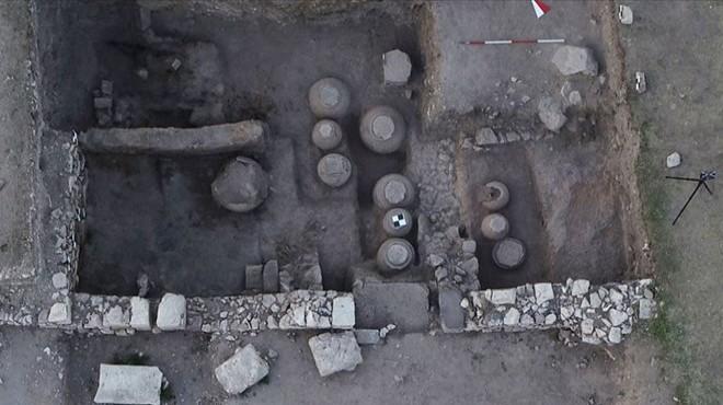 Afyon'da Bizans kalıntıları: Tahıl ambarı bulundu