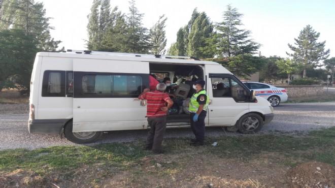Afyon'da kazalara karşı jandarma önlemi