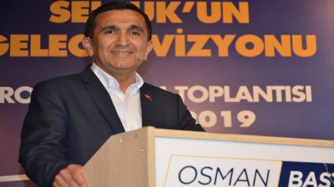 AK Parti Adayı Başterzi'den Selçuk'a 12 dev proje