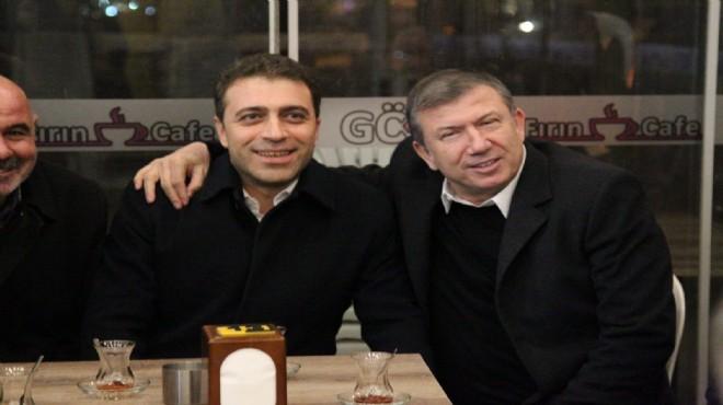 AK Parti Buca adayı Arslan'a 'kral' destek