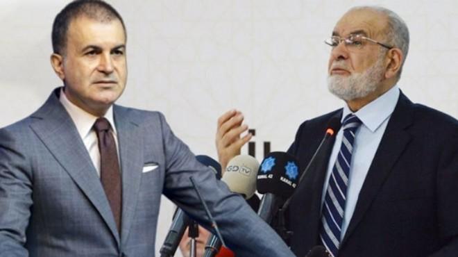 AK Parti'den Karamollaoğlu'na tepki!
