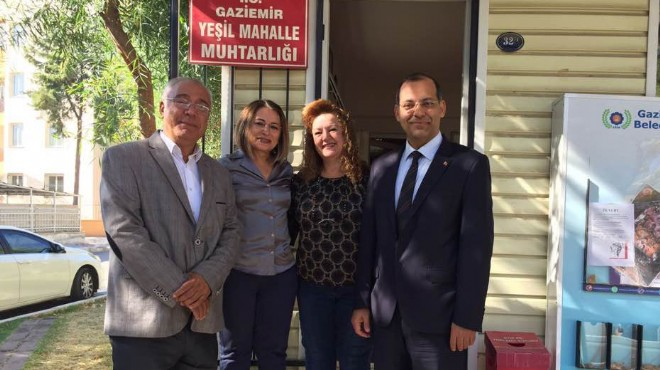 AK Parti Gaziemir'den muhtarlara ziyaret