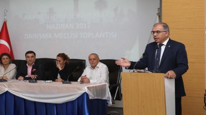 AK Parti İzmir'de danışma raporu: Kimler, neler dedi?
