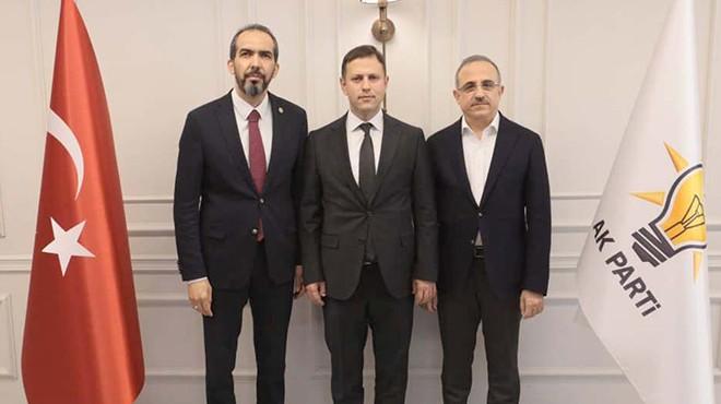 AK Parti İzmir'de ilçe başkanı istifa etti!