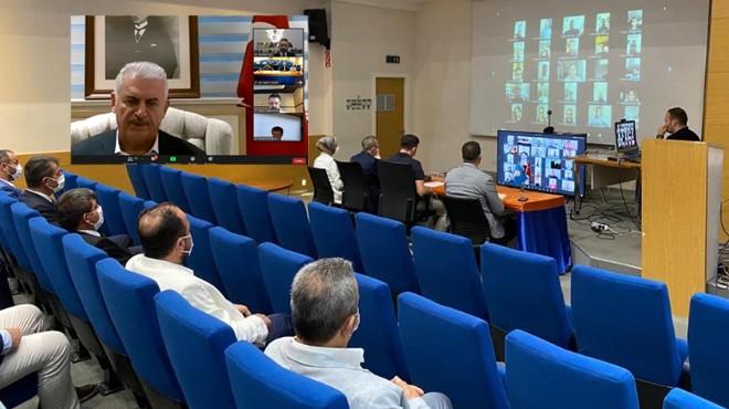 AK Parti İzmir'de online bayramlaşma