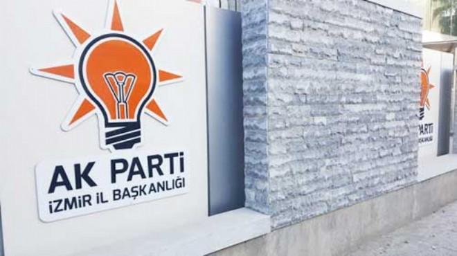 AK Parti İzmir'de üyelik seferberliğinde en başarılı ilçeler açıklandı