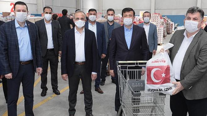 AK Parti İzmir'den rekor sayıda yardım kolisi