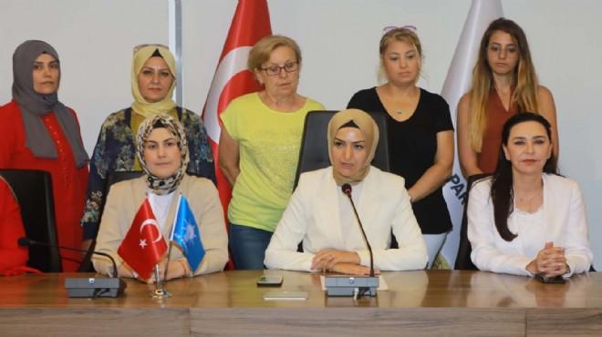 AK Parti İzmir'in kadınlarından 'Srebrenitsa' açıklaması