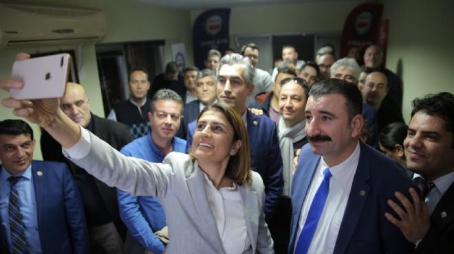 AK Parti Konak adayı Eroğlu'na sendika desteği