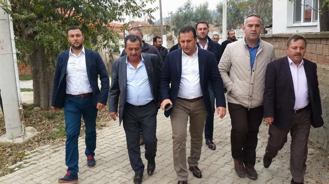 AK Parti Menderes'te o isim istifa etti!