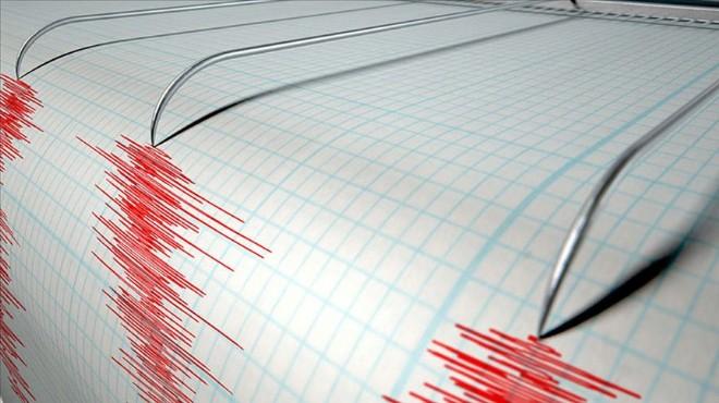 Akdeniz'de 5 büyüklüğünde deprem!
