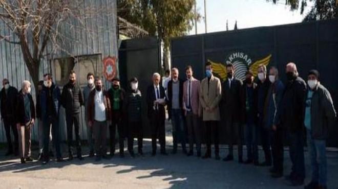 Akhisarspor'da kongre isyanı: Muhatap bulamadılar!