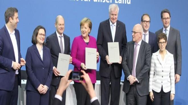 Almanya'da koalisyon hükümeti kuruldu