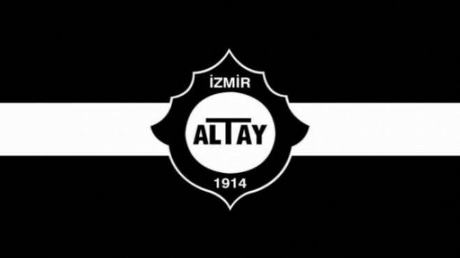 Altay'da deprem! Transfer yasağı geldi