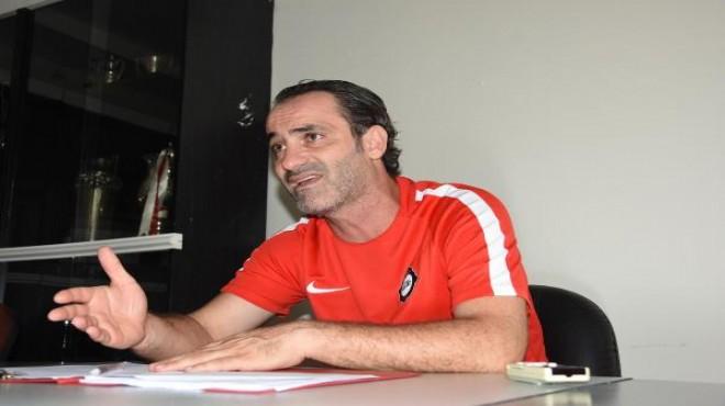 Altay Teknik Direktörü Biçer: Şampiyonluk için çok erken