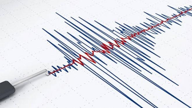 Antalya'da 4.2 şiddetinde deprem!