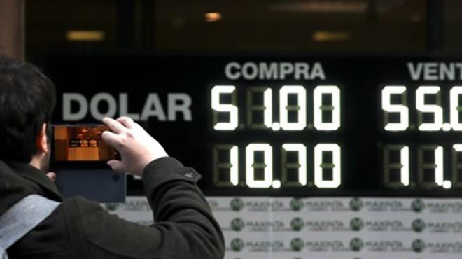 Arjantin'de seçim sonrası piyasalar çöktü