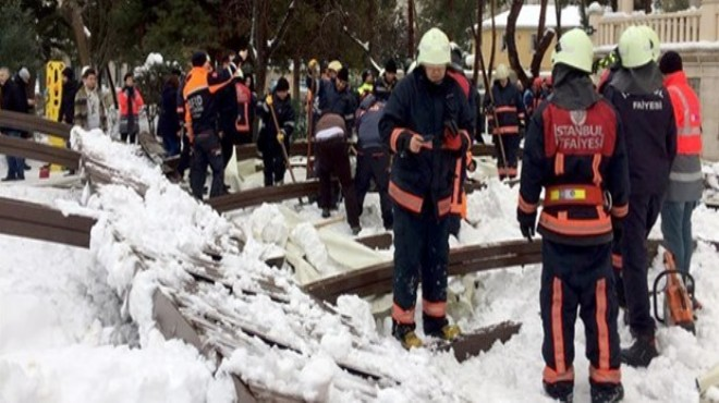 Ataköy'deki tente faciasında bilirkişi raporu savcılığa ulaştı