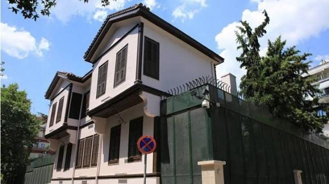Atatürk'ün doğduğu eve çirkin saldırı!