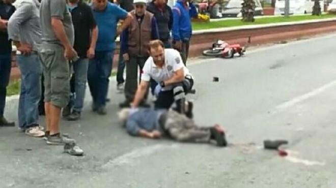 Aydın'da feci kaza: Kask takmadı, canından oldu!