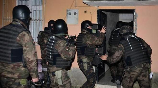 Aydın'da FETÖ'nün hücre evine baskın!