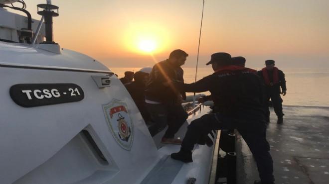 Aydın'da kaçak göçmen operasyonu: 172 gözaltı