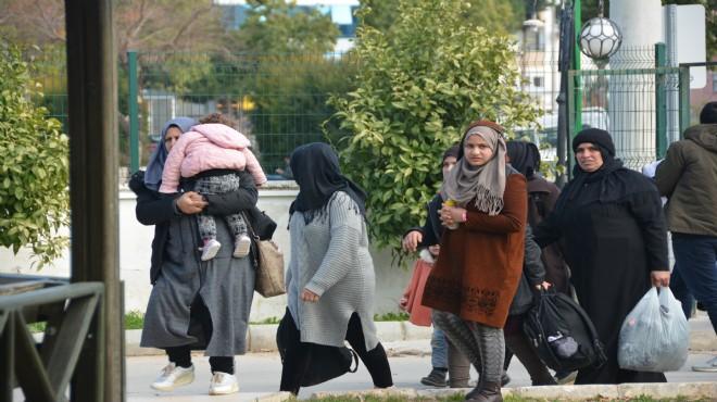 Aydın'da kaçak göçmen operasyonu: 86 gözaltı