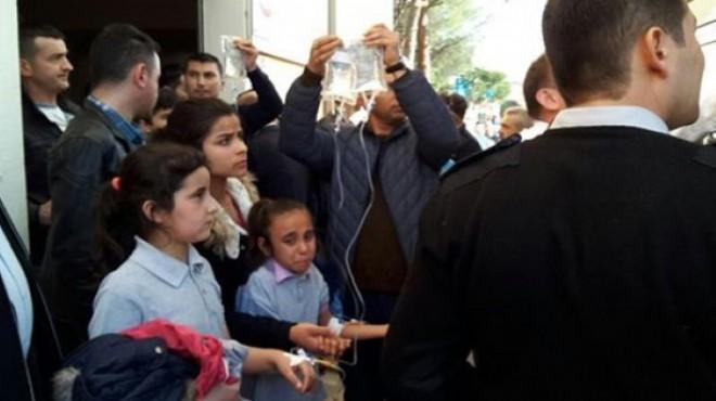 Aydın'da onlarca öğrenci hastanelik oldu!