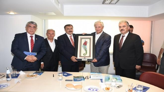 Bakan Eroğlu'dan EBSO ziyareti
