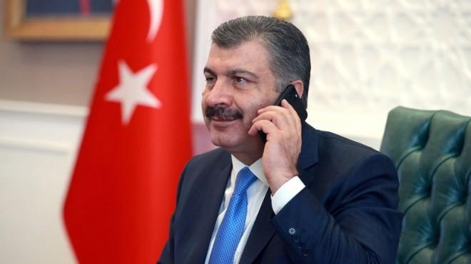 Bakan Koca'dan CHP'li vekile telefon: Gerekeni yapacağız