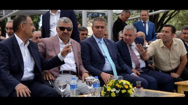 Bakan'la CHP'li vekil arasında gerginlik!