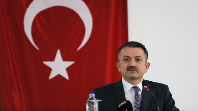 Bakan Pakdemirli, çalıştayda konuştu: İklim krizine reçete İzmir'den çıkacak
