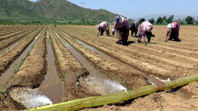 Bakanlık'tan İzmirli çiftçilere '100 milyonluk cansuyu'