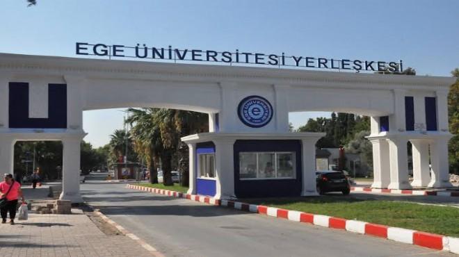 Bakanlıktan Ege Üniversitesi'ne 22 milyon TL ek ödenek